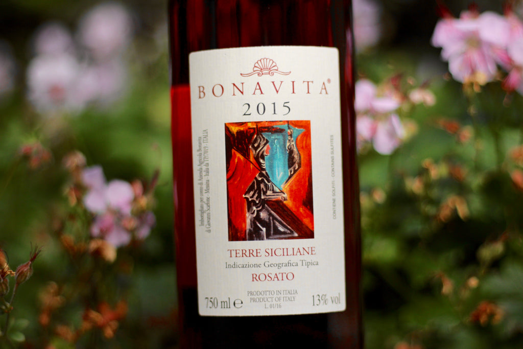 2015 Bonavita Faro Rosato - Rock Juice Inc