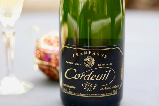 NV Champagne Cordeuil Extra Brut - Rock Juice Inc