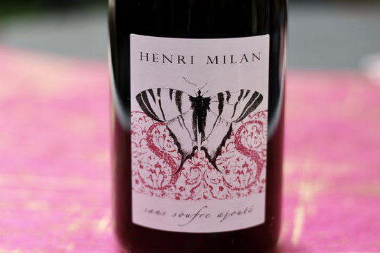 NV Henri Milan Brut Rosé - Rock Juice Inc