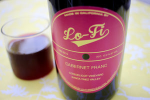 2015 Lo-Fi Cabernet Franc Coquelicot Vineyard - Rock Juice Inc