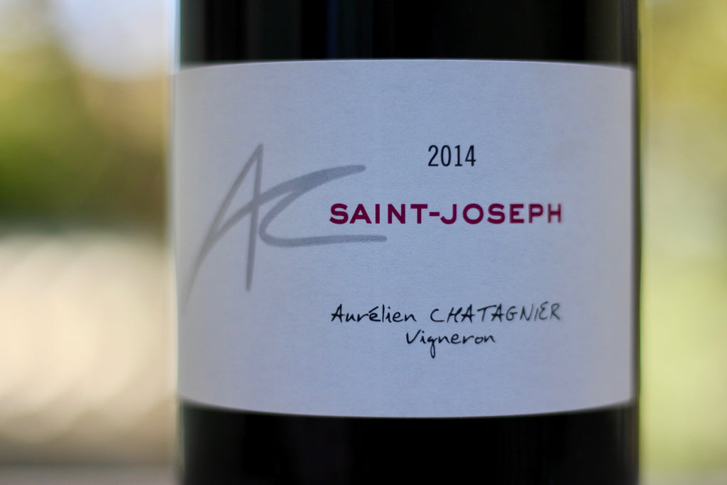 2014 Aurélien Chatagnier Saint Joseph Rouge - Rock Juice Inc