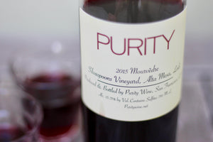 2015 Purity Mourvèdre - Rock Juice Inc