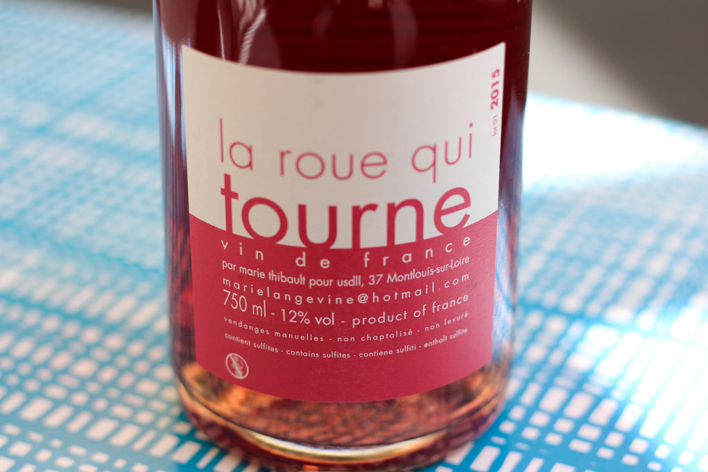 2015 Marie Thibault 'La Roue Qui Tourne' Pet'nat Rosé - Rock Juice Inc