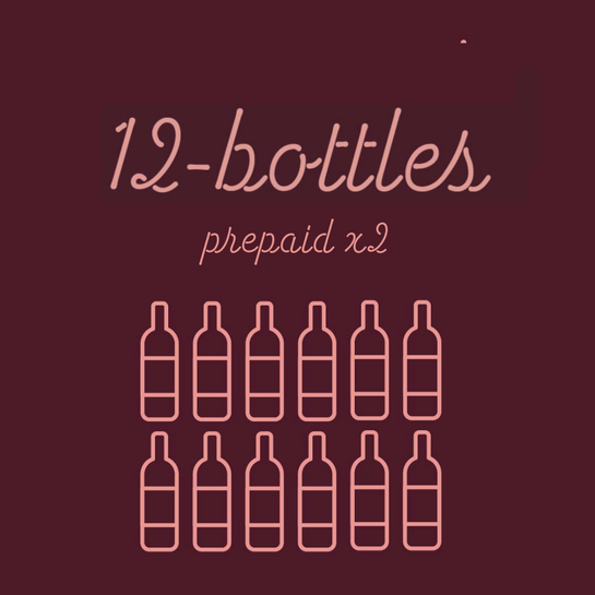 Prepaid: 2 Shipments of 12 Bottles - Rock Juice Inc