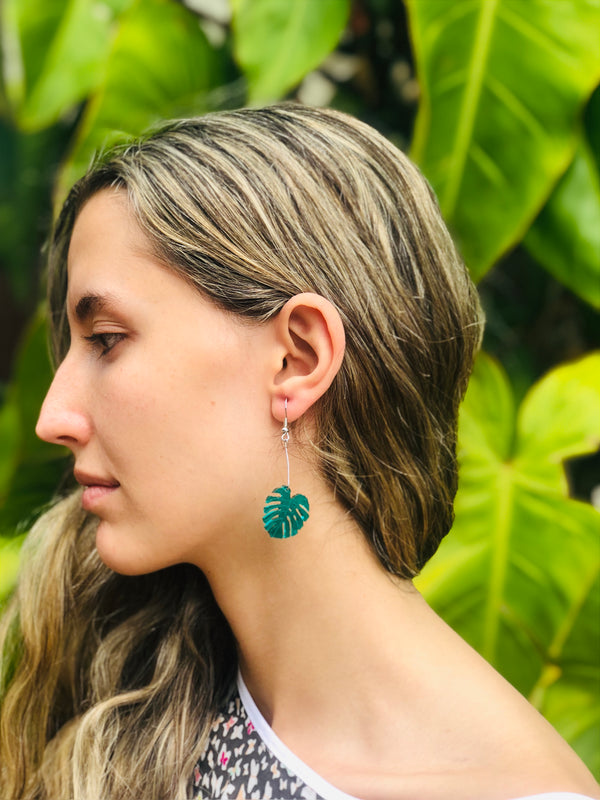 Dangle Gloria Palm Earring