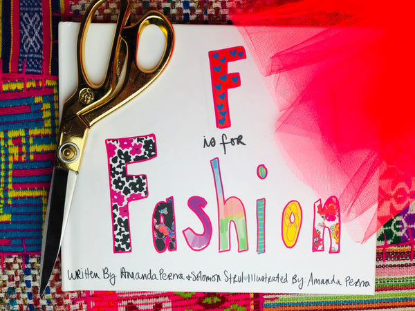 F is for Fashion Illustrated Book