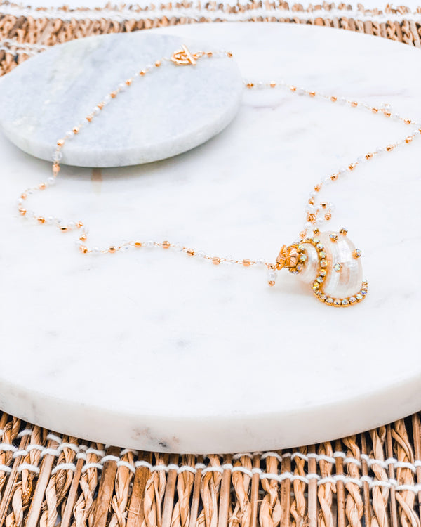 Sandy Shell Necklace