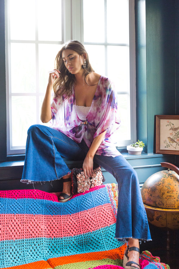 Limited Edition Kate Watercolor Kimono