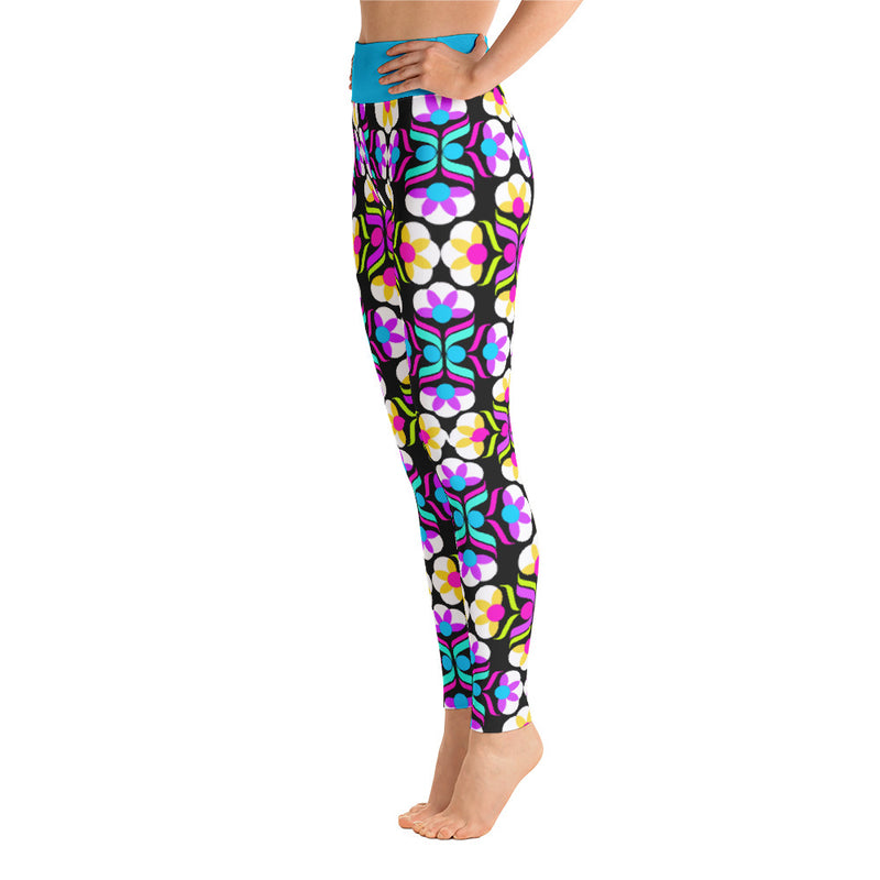 Fiesta Floral Yoga Leggings