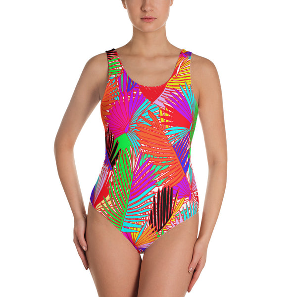 Pretty In Palm One-Piece Swimsuit