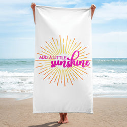 Add a Little Sunshine Towel