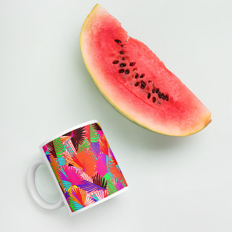 Pretty in Palm Mug
