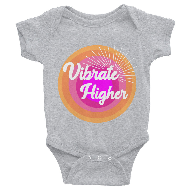 Vibrate Higher Infant Onesie