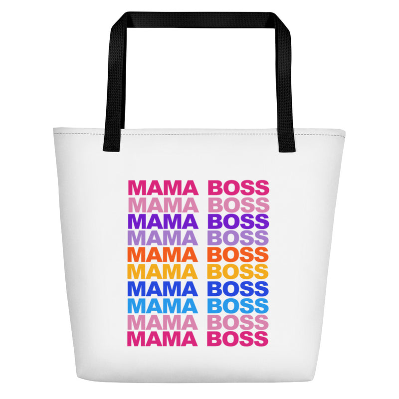 Mama Boss Tote Bag