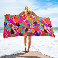 Pretty in Palm Towel