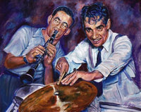 Benny Goodman and Gene Krupa