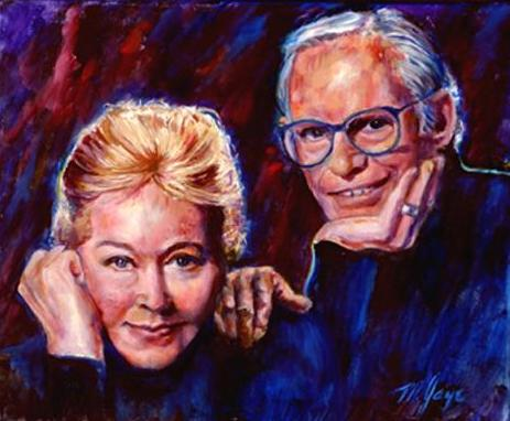 Lyricists Marilyn and Alan Bergman