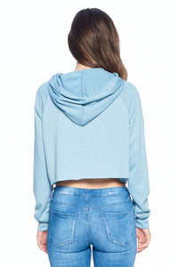 French Terry Crop Hood #2
