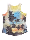 Kid's Burnout Tank Top - Sublimation (2-13Yrs)