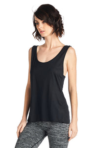 Women's CROSS BACK TANK TOP