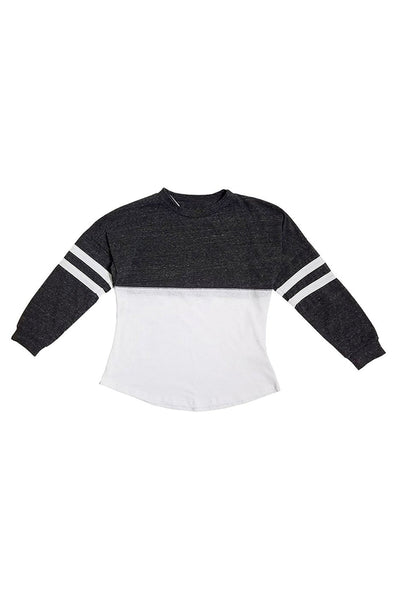 KID 2 COLOR SWEATER