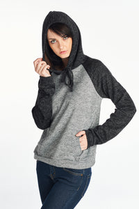 Brush Raglan Hood