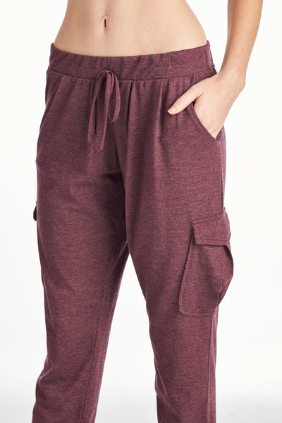Women's Cargo Long Sweat Pants