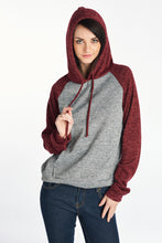 Women's BRUSH RAGLAN HOOD