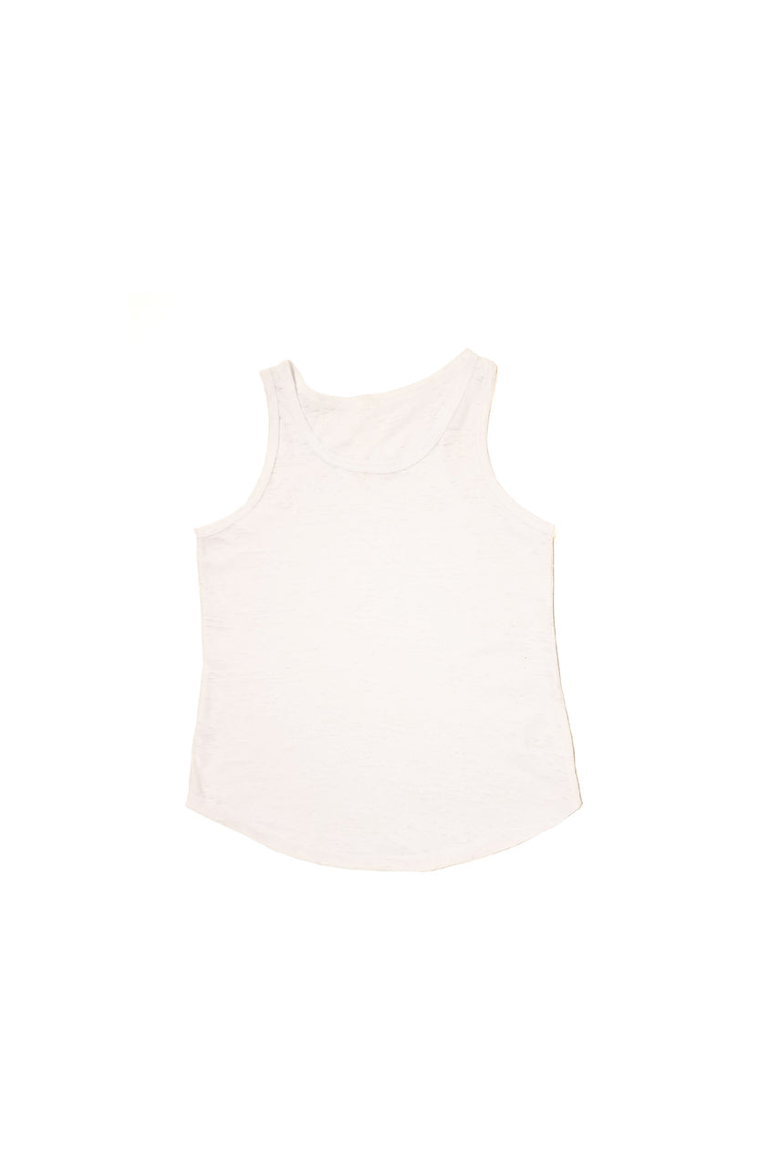 Kids boy & girl burnout tank top