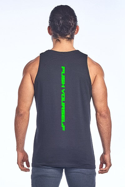 Men's Tank top - PUSH YOURSELF PRINT