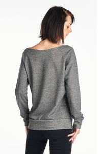 Women's TWO TONE VINTAGE SWEATER