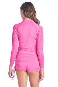 Women's Premium Rash Guards Plain