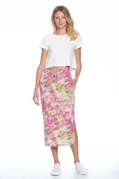 Casual Long Skirt with Slit
