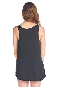 Loose Fit Soft Tank Top