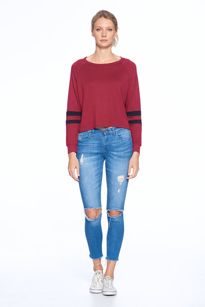 Long 2 Line Sleeve Top