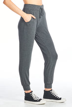 Two Tone Viscose Capri Long Pants