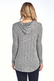 Novelty Knit Loose Fit Hood