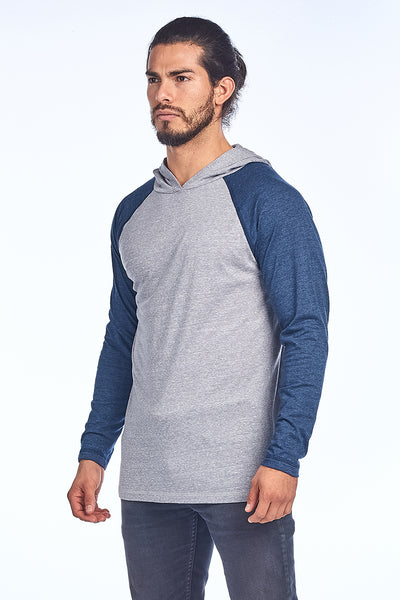 Men's Light Triblend Raglan Hood