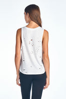 Triblend Side Open Grunge Tank Top