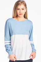 Triblend 2 Color Plain Sweater