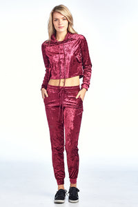 Icy Velvet Long Pants