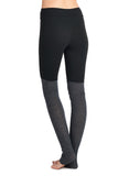 Brush & Ribbed 2 Color Yoga Leggings
