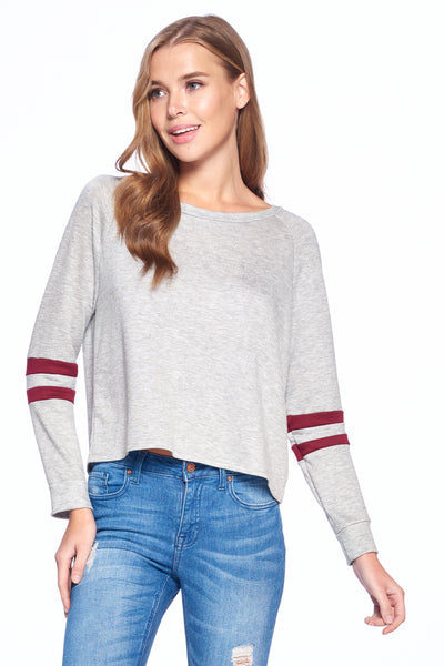 Long 2 Line Sleeve Top #2