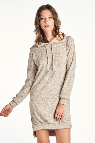 Women's TWO LENGTH HOOD DRESS