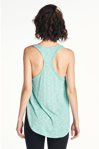 Women's Side Opened Slub Tank Top