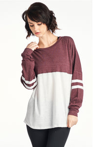 Women's Triblend 2 color sweater