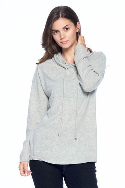 Soft Relaxed Hoodie Top