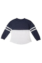 2-7 yrs Two Color Sweater Plain