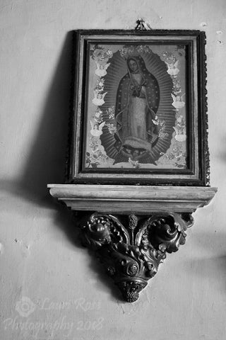 Virgin of Guadelupe; Oaxaca, Mexico