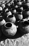 Patterned Terracotta Water Vessels; MBagne, Mauritania